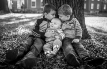 Family picture session in Kannapolis, NC