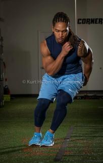 cross training in nike workout gear