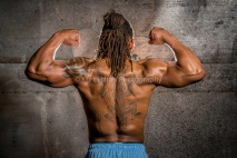muscle fitness photography