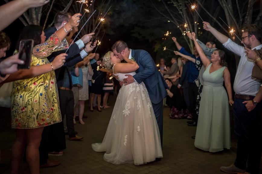 Wedding Sparkler Exits